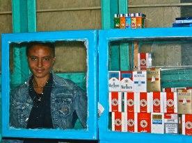 Through the glass, Tunisia